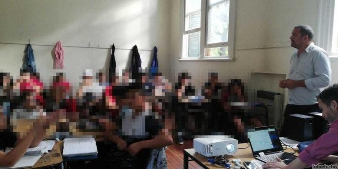 """Taller sobre """"Promoción de Derechos en entornos Digitales"""" realizado en el Colegio Nacional de la UNLP"""